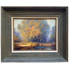 "Rod Goebel Signed, ""Soft Light"" Landscape"