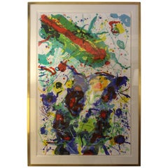 Sam Francis Abstract Lithograph 32/50