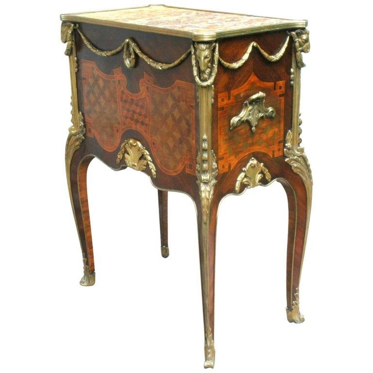 19th Century, French XVI Style Fall-Front Secretaire