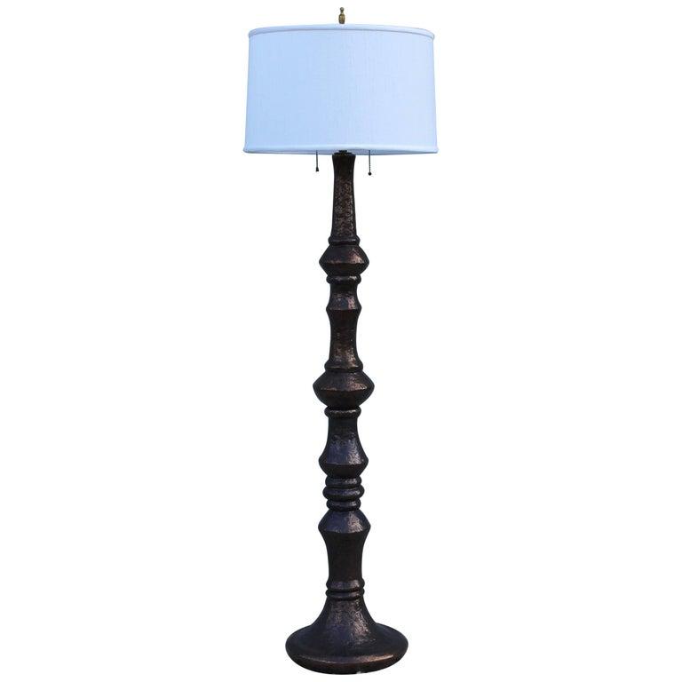 1960s Italian Ceramic Floor Lamp