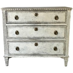 Period Swedish Gustavian Chest of Drawers