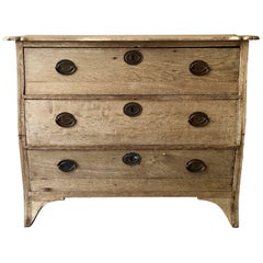 19th Century Dutch Oak Commode