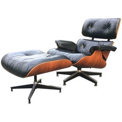 Perfect Vintage Eames Lounge and Ottoman
