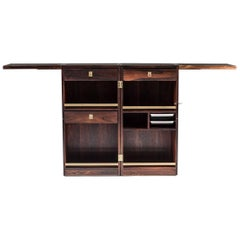 Danish Bar Cabinet by Reno Wahl Iversen for Dyrlund