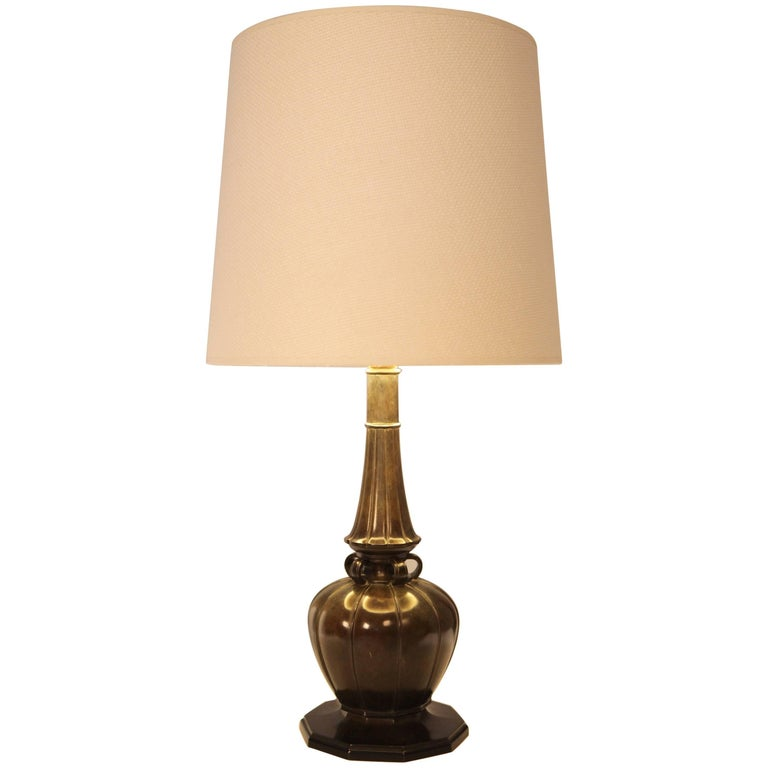 Just Andersen table lamp model no. 2239, 1930, offered by Fuchs Interiors OHG