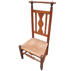 19th Century French Prie-Dieu Prayer Chair