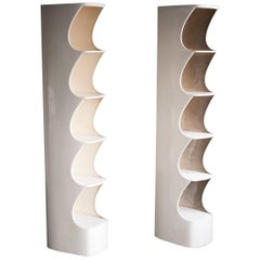 "1970s Pair of Rodier ""TOTEM"" Shelves"