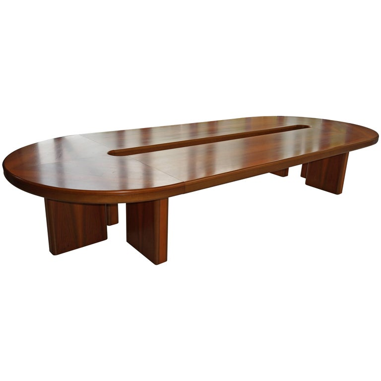 12 Seat Dining Table Or Meeting For Sale At 1stdibs