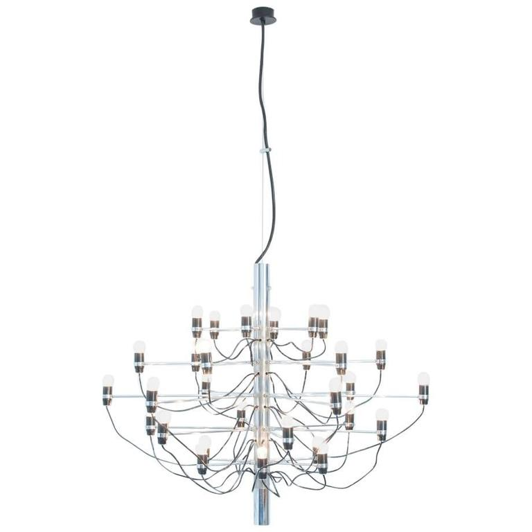 Chandelier Model 2097/30 by Gino Sarfatti for Arteluce For Sale