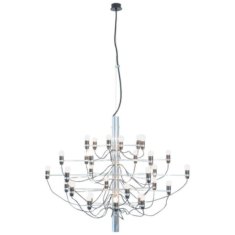Chandelier Model 2097/30 by Gino Sarfatti for Arteluce 1