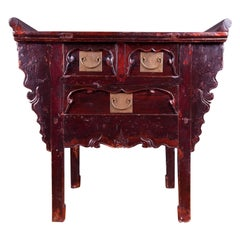 Chinese Altar Top Chest