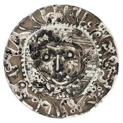 Pablo Picasso Limited Edition Visage De Faune Tourmente Plate, 1956