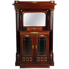 19th Century Empire Buffet Cabinet, 1890