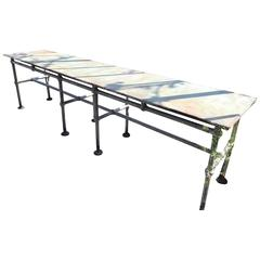 Iron Conservatory Table