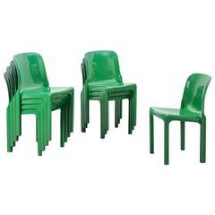 Vico Magistretti Selene Chairs Artemide, Italy, 1968