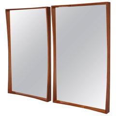Pedersen & Hansen Large Teak Mirrors