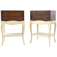 Pair of Grosfeld House Nightstands