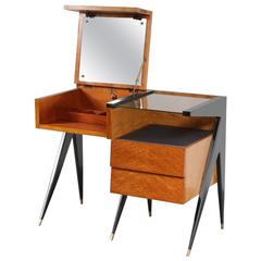 Dressing Table in the Style of Ico Parisi, Italy, 1950
