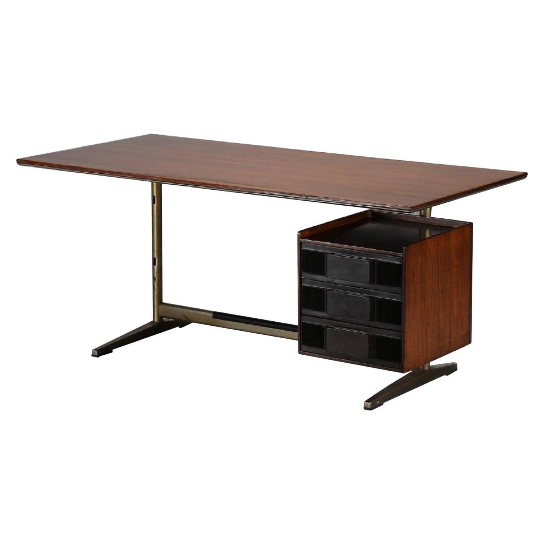 Desk Designed by Gio Ponti for Pirelly Tower Rima Padova Italy