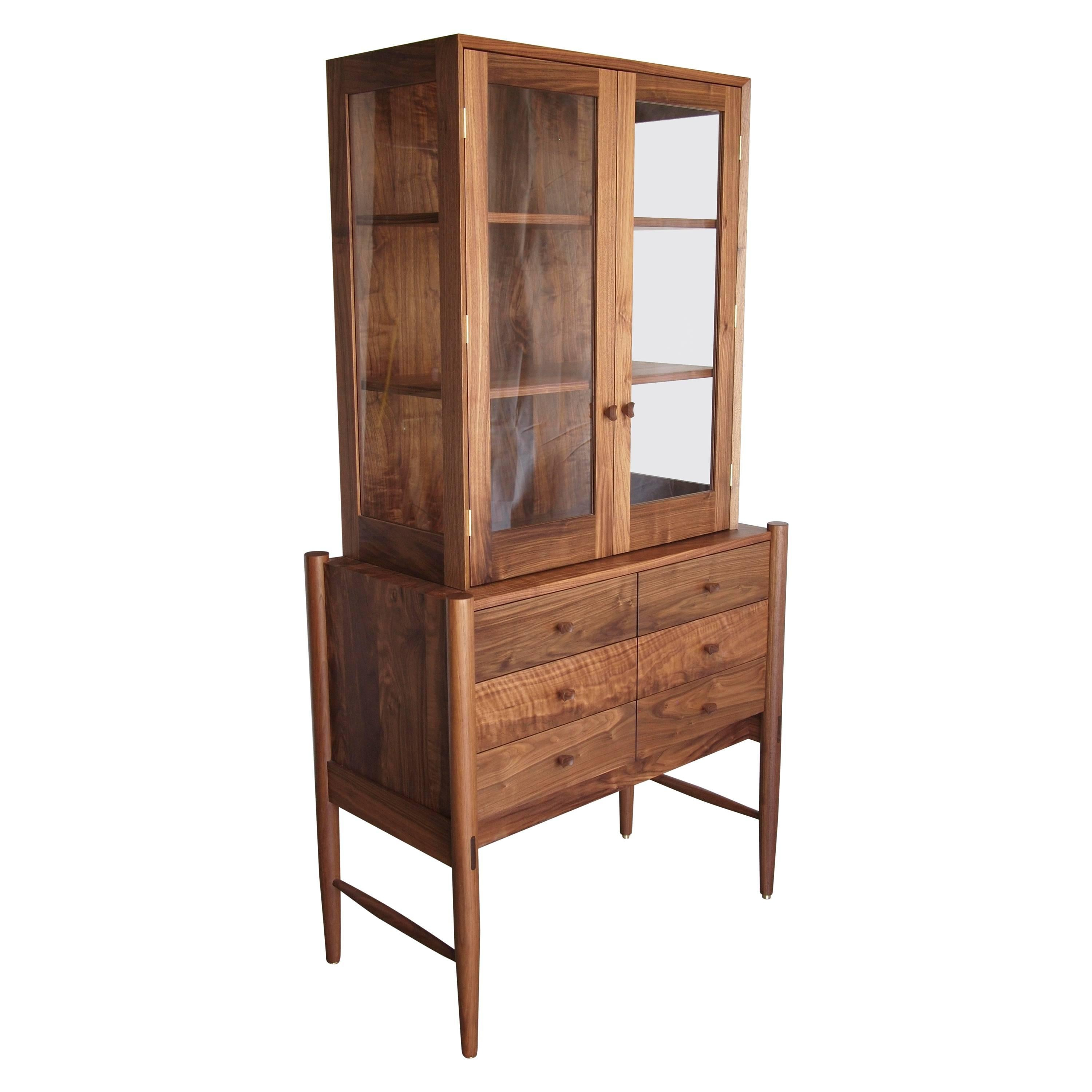 Curiosity Cabinet by Phloem Studio in Walnut For Sale at 1stdibs