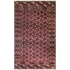 Unusual Turkoman Tekke Carpet
