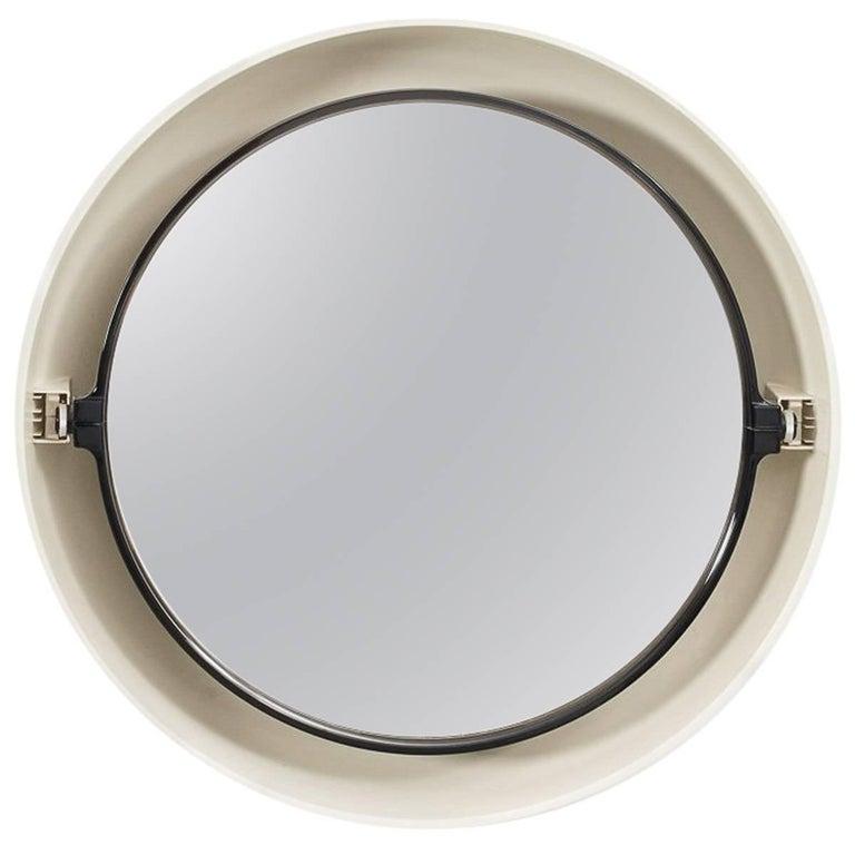 Illuminated Round Plastic Mirror Dutch 1960s For Sale At
