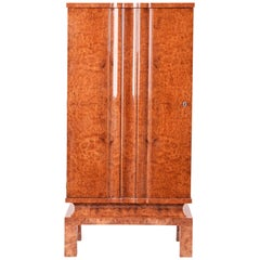 Art Deco Cabinet with Shelves from Czech Republic
