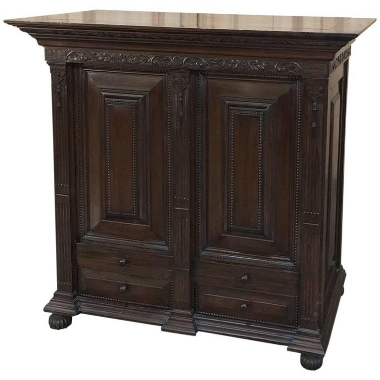 19th Century Renaissance Buffet or Credenza