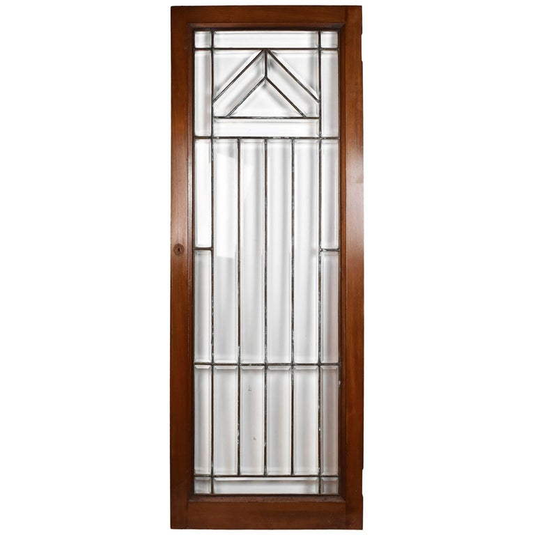Arts And Crafts Beveled Cabinet Doors For Sale At 1stdibs