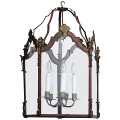 Vintage Italian Tole Lantern
