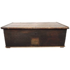 Early 19th Century Swedish Painted Trunk