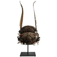 Chinese Plumed Imperial Court Hat