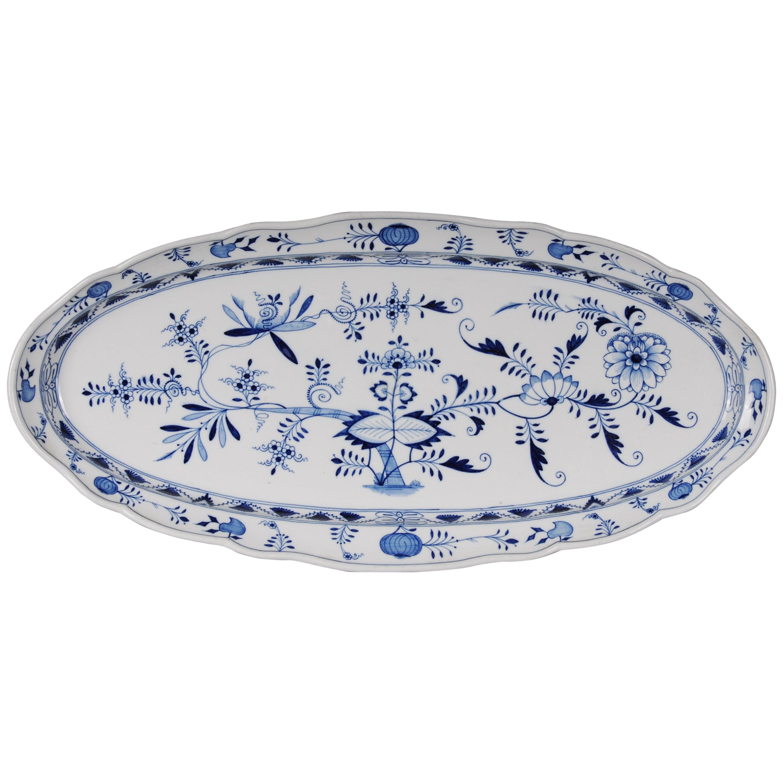 19th Century Meissen Fish Plate, circa 1860