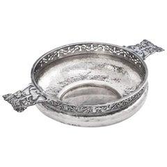 Arts & Crafts Silver Two-Handled Porringer