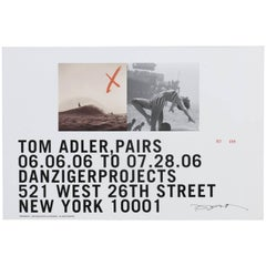 Tom Adler, Danziger Projects Exhibition Poster, 2006