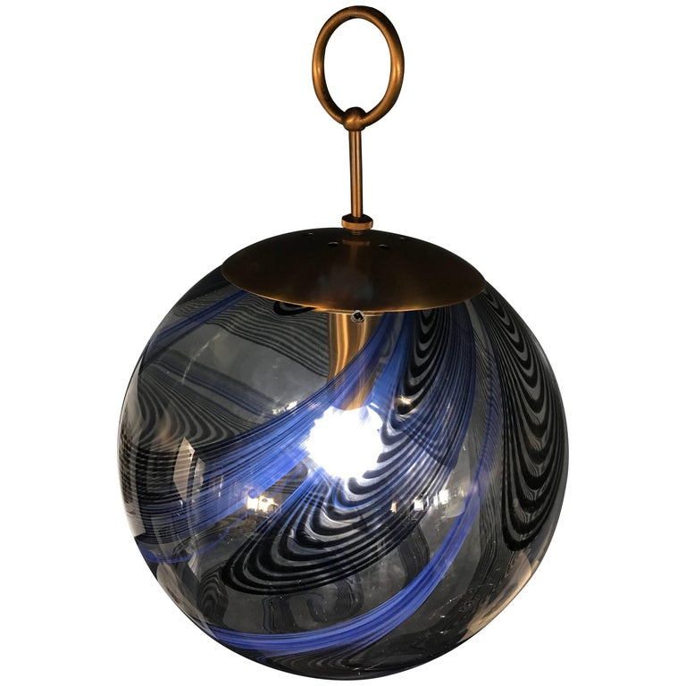 Mid-Century Modern Lino Tagliapietra Chandelier by La Murrina in Murano Glass