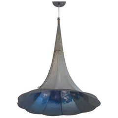 Pendant Light from Antique Gramaphone Horn