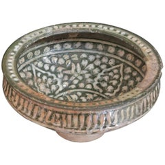 Art Ilkhanide Ceramic Bowl, 12th and 13th Centuries, Iran