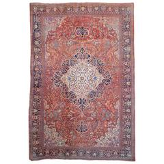 Sarouk Fereghan Antique Oversized Persian Rug