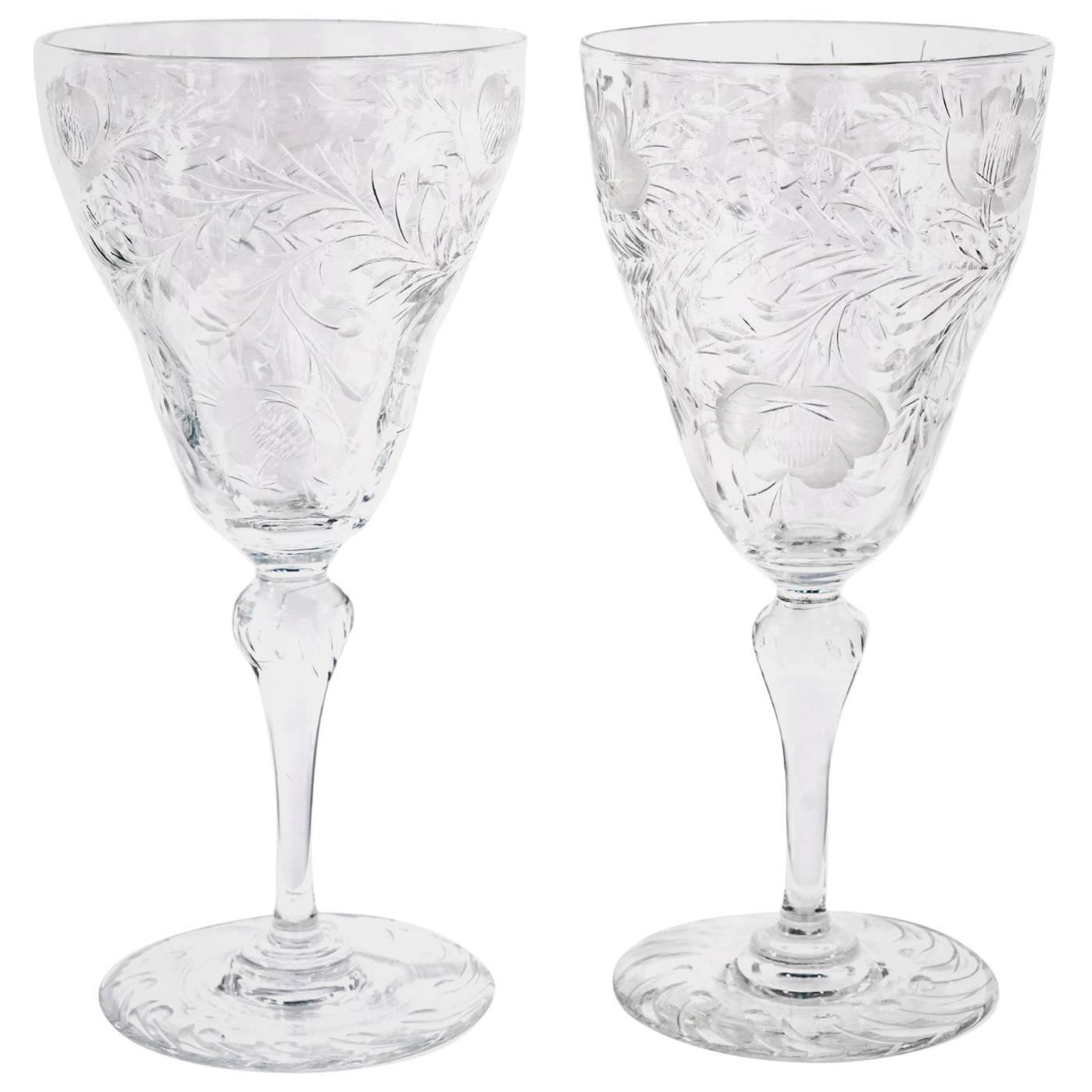Wasserglas Kristallglas Friedrich Glas facettiert