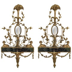 Pair of Neoclassical Wall Sconces