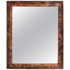 Carved Teak Wood Mirror