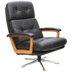 Leather Lounge Chair by COR, Germany, 1970s