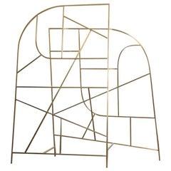 Room Divider 01 by Todd St. John in Brass - In Stock