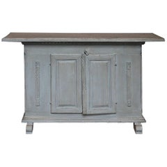 Swedish Country Sideboard with Neoclassical Detail