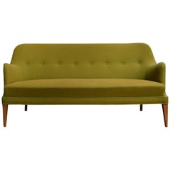 Mid-Century Scandinavian Modern Sofa in the Style of Carl Malmsten