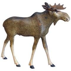 Danish Moose Carving