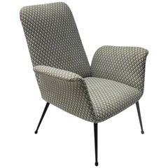 Italian Midcentury Armchair in the style of Alvin Lustig