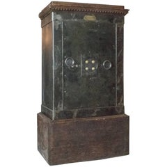 Large Napoleon III Steel Safe