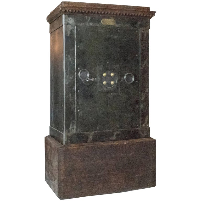 Large Napoleon III Steel Safe For Sale